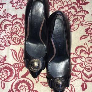 Burberry Medallion Heels 👠